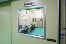 工場の集中管理室